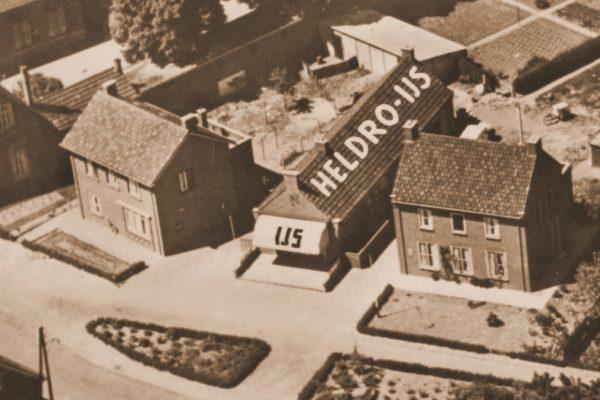 Heldro 1950 vanuit de lucht
